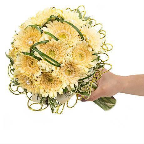d212ada613528 Свадебный Букет невесты с гермини «Музыка цветов» ~ Bloom