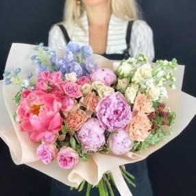 Коробки букетики цветов купить в минске
